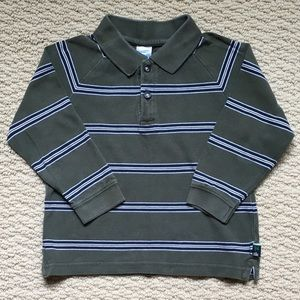 Old Navy Long Sleeves Polos Shirt